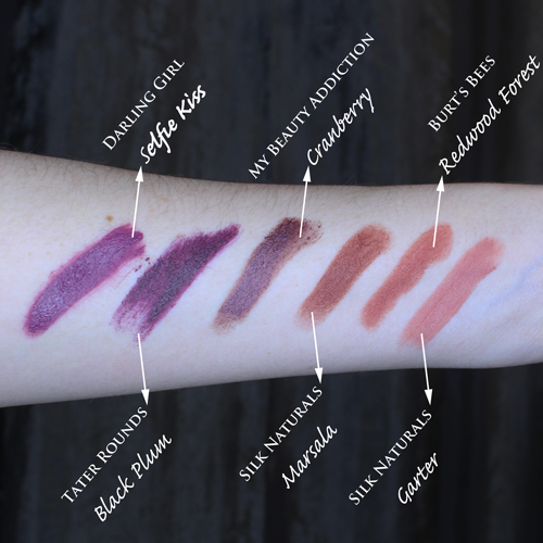Delila Sophia's 6 Lip Colors for Fall